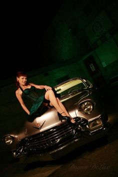 The Rebel PIN-UP Page: CADILLAC DELUX, DAYNA DELUX  http://www.daynadelux.com www.facebook.com/pages/Dayna-Delux/220457834858 © Photography by Varga  http://royvarga.com  * for Bombshell 'n' Ink    Posted by: pinuppage.blogspot.com