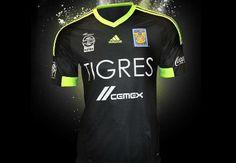 Tigres UANL 2015 adidas Third Jersey