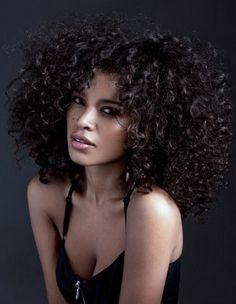 Kinky curly wig short human hair