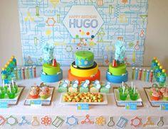 Professor Hugo's Scientific 8th Birthday - science