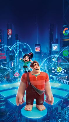 Movies Wallpaper for iPhone from moviemania.io Ralph Breaks the Internet Phone Wallpaper Ralph Breaks the Internet Phone Wallpaper Nemo Wallpaper, Disney Phone Wallpaper, Wallpaper Cartoon Iphone, Cute Cartoon Wallpapers, Movie Wallpapers, Wallpaper Wallpapers, Iphone Wallpapers, Disney Images, Disney Pictures
