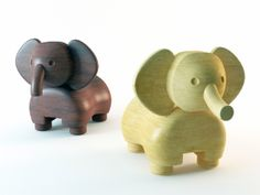 Wooden Animals by Jessica Sy, via Behance
