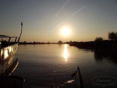 Sunset in Sandomierz, Poland
