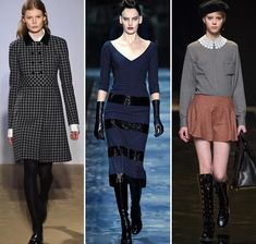 Fall/ Winter 2015-2016 Print Trends: Gingham Patterns