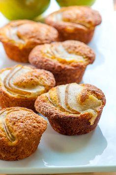 Pear and Vanilla Muffins Recipe