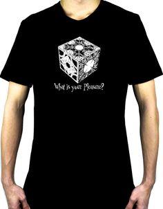Puzzle Box Men's Tshirt Hellraiser Pinhead Horror Clothing