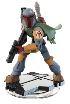 Disney Infinity game system presents this STAR WARS BOBA FETT gamepiece. Visit website for full line of Disney Infinity figures including pricing and availability. Disney Star Wars, Disney Pixar, Disney Toys, Star Wars Boba Fett, Star Wars Rebels, Figuras Disney Infinity, Boba Fett Figure, Disney Infinity Characters, 3 Characters