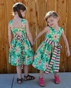 Saffron Twirl Dress Pattern