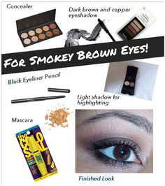 How to Get Brown Smokey Eyes – A Simple Tutorial