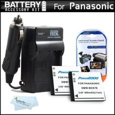 2 Pack Battery And Charger Kit For Panasonic LUMIX DMC-SZ7, DMC-TS25 Digital Camera Includes 2 Extended Replacement (900Mah) DMW-BCK7 Batteries + Ac/Dc Rapid Travel Charger + LCD Screen Protectors + MicroFiber Cleaning Cloth by ButterflyPhoto. $19.95. Product Description This Kit Includes Some Of The Essential Accessories You Need To Take Full Advantage Of Your New Panasonic LUMIX DMC-SZ7, DMC-TS25Digital CameraKit Includes:♦ 1) Vidpro - (Qty. 2) Extended (900mAh)...