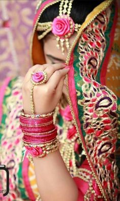Dulhan Bride  South Asian Desi Pakistani Wedding Bangles