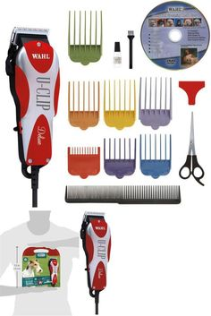 Kit Grooming Dog Hair Pro Pet Animal Clipper Thick Complete Heavy Duty Deluxe