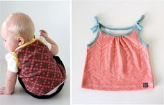 Free pattern: Simple tank for baby · Sewing | CraftGossip.com