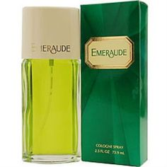Emeraude Perfume by Coty, Launched by the design house of Coty in 1921, emeraude is classified as a refined, oriental fragrance . This feminine scent possesses a blend of jasmine, orange, and other ci