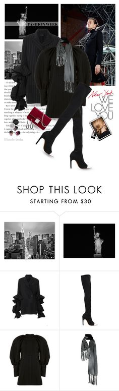 """""""Monday: Nothing a bit of shopping can't fix"""" by blonde-bedu ❤ liked on Polyvore featuring Trademark Fine Art, Antonio Berardi, E L L E R Y, Givenchy, Christian Dior and Garance Doré"""