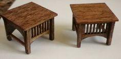 Stickley Style End Tables  2 per  Kit  Quarter by SandSFurnitureCo, $8.00