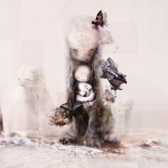 The Promise ~ artist Chris Berens; he has a fascinating process.   #art #painting