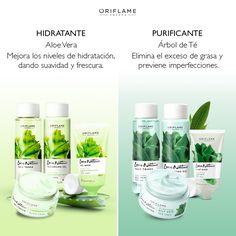 Elige la ideal según tus necesidades…#Hidratante #Purificante #Piel #AloeVera #Té #Cuidados