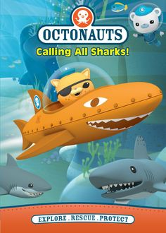 Lucky winner of Octonauts: Calling All Sharks! DVD on Thanks Ellen, Teresa and N Circle Entertainment! All About Sharks, All Sharks, Toddler Fun, Toddler Activities, Baby Shark Doo Doo, Shark Week, Mom Blogs, Kids And Parenting, Gifts For Kids
