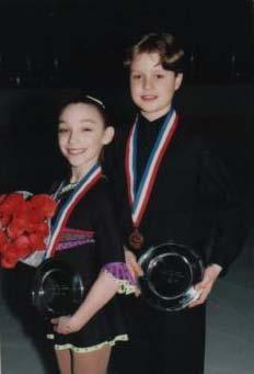 Everyone starts somewhere.  Meryl Davis & Charlie White in grade school.  Classroom Champions