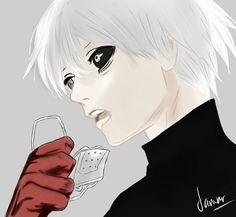 kaneki ken #art #anime #manga #tokyoghoul