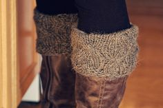 "Free Patterns for Boot Toppers | Ravelry: ""Boot Candy"" Boot Cuffs/Toppers Knitting Pattern pattern by ..."