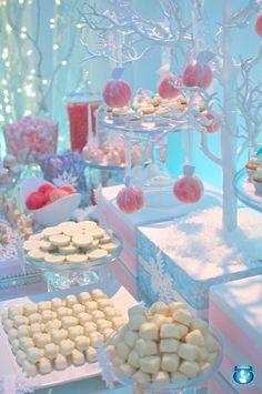 Winter wonderland party | Winter Wonderland | Kenzies snowflake party
