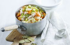 Grønnsakssuppe med svinekjøtt | www.greteroede.no | Oppskrifter | www.greteroede.no