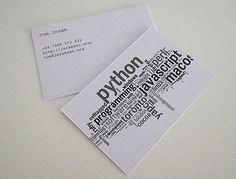 Creatividad en forma de tarjetas de visita – Las 50 mejores tarjetas de visita – Código Visual