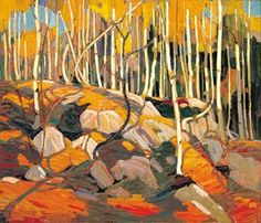 Tom Thomson, one of the Group of Seven  -  The Birch Grove