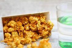 blomkaalssnack smager som osterejer popcorn