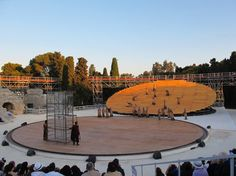 OMA scene in 2012 for the Greek Theater of Syracuse, Sicily