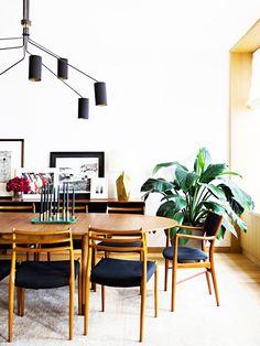 A Midcentury-Modern Family Apartment in SoHo via @MyDomaine