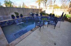 Small yard pool idea.