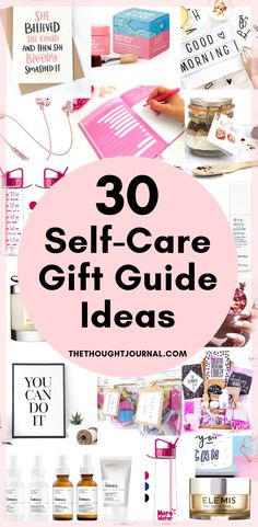 30 self care gift guide ideas for friends who need some TLC. DIY and thoughtful gifts for friends and loved ones this holiday season. What gifts to buy for someone who needs some self care and for anyone dealing with mental health issues. Self care gift ideas and presents for friends who need reminding that they're amazing! #selfcare #minidfulness #giftguide #gifts #presents #diygifts #diy #mentalhealth