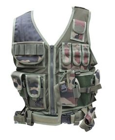 Modern Warrior Camouflage Tactical Vest by Modern Warrior. $23.99. This camo premium tactical vest by Modern Warrior is the perfect outdoors or hunting vest. Numerous pocket gives you great storage capacity. Adjustable torso allows for size to fit all comfortably. Has straps on side/torso area and around waist for maximum comfort in fit. Padding on right shoulder for recoil, rifle and handgun magazine pockets, shotgun shell holders, handgun holster and much more. Gre...