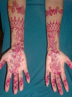 Temporary Bridal Mehndi by Dimple Shah