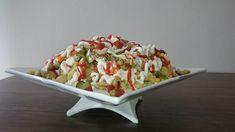 Son olarak mayonez ve ketçap ile süsleyerek servis yapın. Afiyet olsun. Potato Salad, Potatoes, Ethnic Recipes, Food, Olinda, Potato, Essen, Meals, Yemek