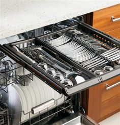 Love The Top Silverware Drawer In This Dishwasher
