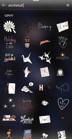 Instagram Blog, Instagram Hacks, Instagram Editing Apps, Instagram Emoji, Creative Instagram Stories, Instagram And Snapchat, Instagram Story Ideas, Instagram Quotes, Instagram Highlight Icons