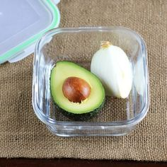 Sometimes I don't need a whole avocado, especially when I'm making food for just myself, so I'm often left with a spare avocado half. As we all know, the cut surface of an avocado quickly turns brown and slimy, making it hard to store it in the refrigerator for very long. Read on for my best tip ever for keeping a cut avocado green, fresh and tasty. (And no, it does not involve the pit!)