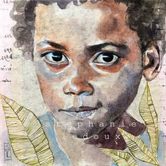 Stephanie Ledoux - from 'Carnets de Voyages' - such expressive eyes!