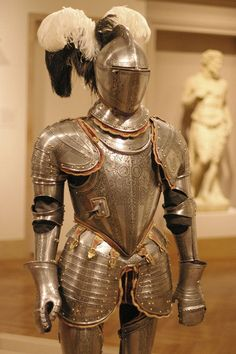 Italy, ~1575. Composite of two armours with later lance rest.