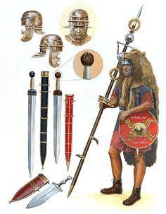 Risultati immagini per An Illustrated Encyclopedia of the Uniforms of the Roman