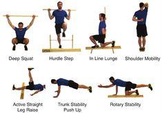 hurdle step vector - Google Search Lunges, Squats, Deep Squat, Leg Raises, Hurdles, Push Up, Trunks, Therapy, Signage