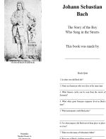 story books about composers - with quizzes and activities.