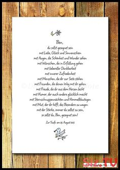 """A beautiful gift idea for birth, christening, communion, birthday or just like that: """"Be blessed"""" – a blessing that is intended primarily for children, but also for … by mybutterflyy Birth Gift, Baby Birth, Baby Quotes, 1st Birthdays, Kids And Parenting, Christening, Baby Baptism, Baby Kids, Baby Baby"""