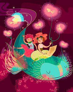 art by lorena alvarez