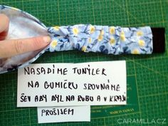 Čelenka do vlasů s gumičkou (inspirace a fotonávod) – Caramilla.cz Event Ticket