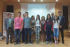 Foto de los premiados en la Olimpiada Matemática.